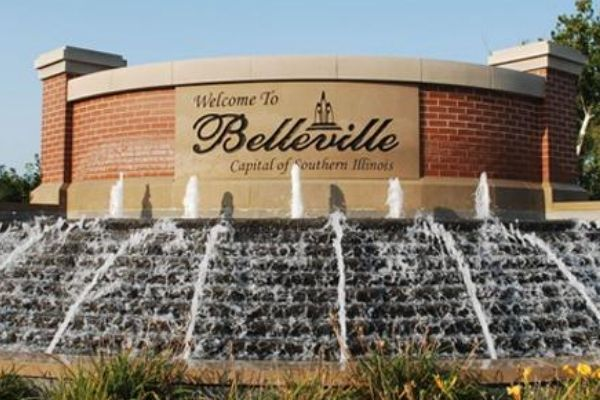 Welcome Sign in Belleville Illinois